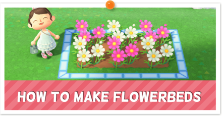 ACNH - Custom Flowerbed Instructions