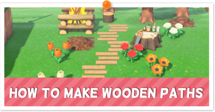 ACNH - Custom Wooden Path Instructions
