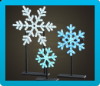 Illuminated Snowflakes Icon