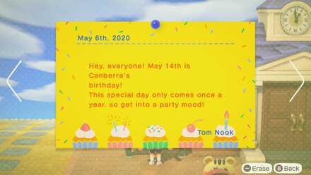 animal crossing new horizons villagers birthdays may