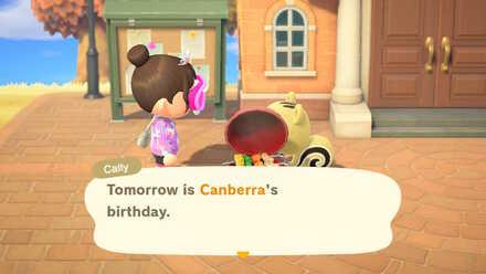 Villager mentioning birthday.jpg
