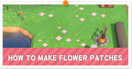 ACNH - Custom Flower Patch Instructions