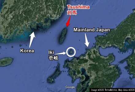 Tsushima Location Map