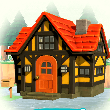 Yellow chalet exterior.png