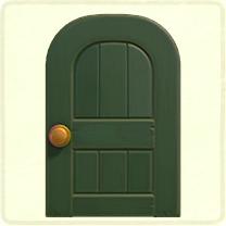 green wooden door.png