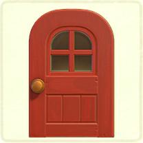 red windowed door.png