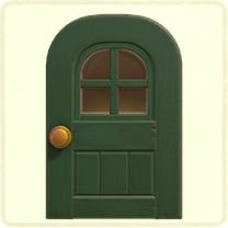 green windowed door.png