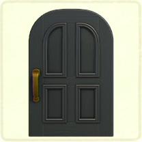 black common door.png