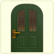 green vertical-panes door.png