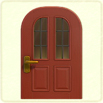 red vertical-panes door.png