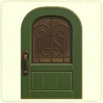 green iron grill door.png