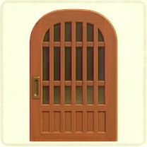 brown latticework door.png