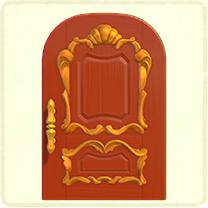 ACNH - red fancy door.png