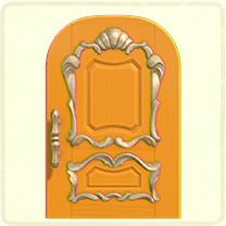 ACNH - yellow fancy door.png
