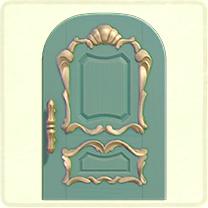 ACNH - blue fancy door.png
