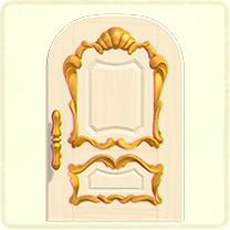 ACNH - white fancy door.png