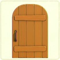 ACNH - maple rustic door