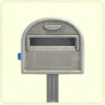 ACNH - normal ordinary mailbox
