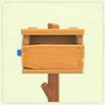 ACNH - rustic mailbox