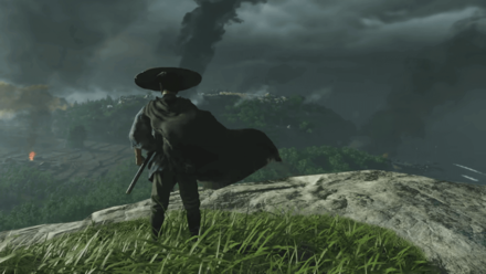 Ghost of Tsushima - State of Play _ Tsushima on fire
