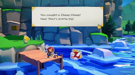 Paper Mario - Fishing Big Cheep Cheeps.png