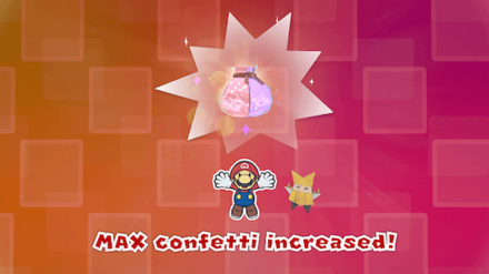 Overlook Tower - Max Confetti Up