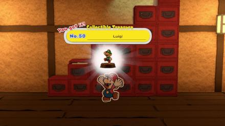 Ninja Attraction_House of Tricky Ninjas - Treasure 50 - Luigi