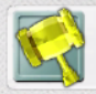 Gold Hammer Icon