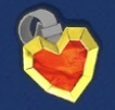 Gold Heart Plus Icon