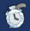 Silver Time Plus Icon