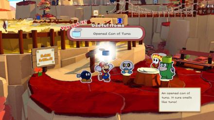 Paper Mario - Opened Tuna Can