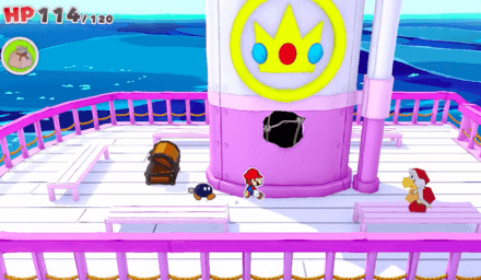 The Princess Peach - Confetti Hole 06