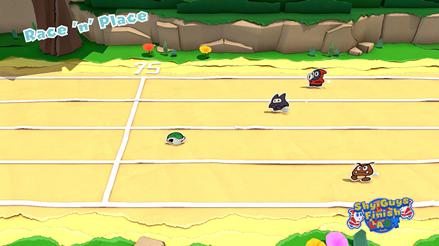 Shy Guys Finish Last and Sudden Death - Race
