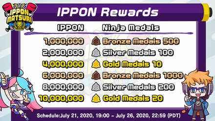 ippon matsuri rewards