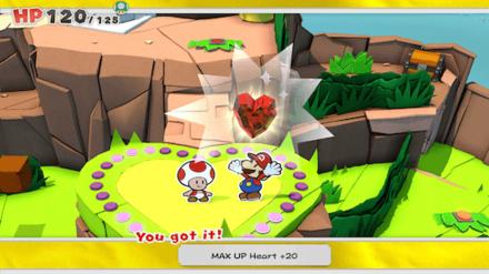 Heart Island Max UP Heart