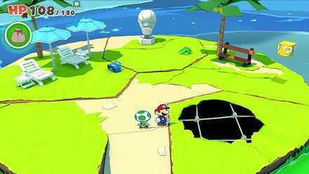Club Island - Hole 01
