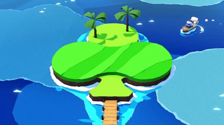 Club Island Banner