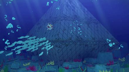 Submerged Diamond Island
