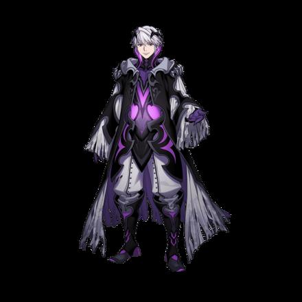 Resplendent Robin (M) Portrait 1