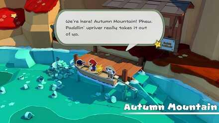 Autumn Mountain Paddler