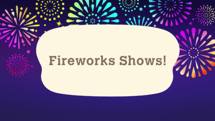 Summer Update 2 - Fireworks Shows