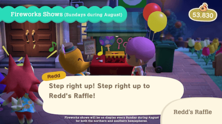 Summer Update 2 - Redds Raffle 2