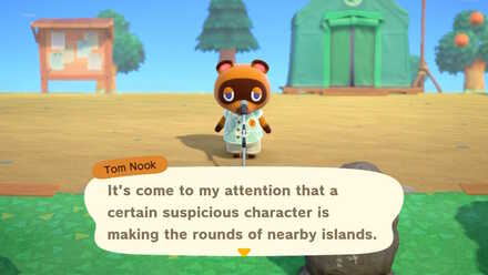 ACNH - Tom Nook Redd Announcement