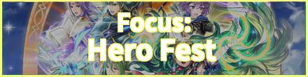Hero Fest Banner