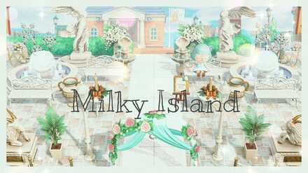 ACNH - Dream Islands - Milky Island