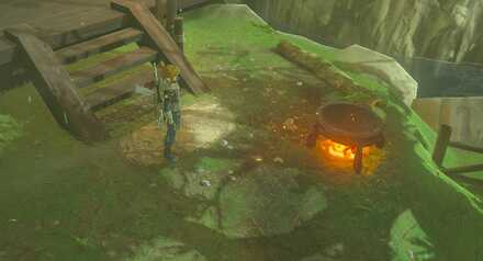 Breath of the Wild - Look for Cooking Pot