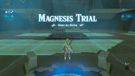 Breath of the Wild - Oman Au Shrine and Magnesis Trial