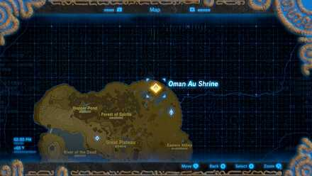 Oman Au Shrine on the Map