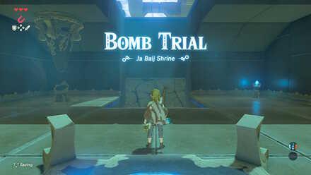 Breath of the Wild - Ja Baij Shrine and Bomb Trial