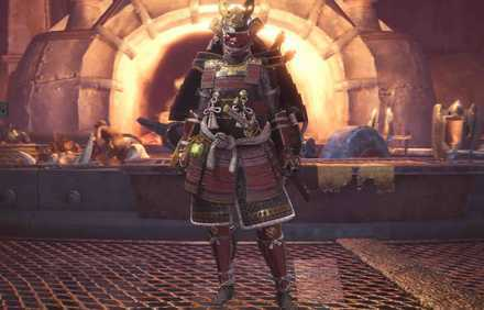 Samurai layered Armor